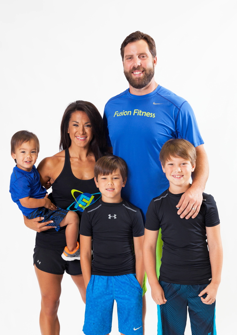 fusion fit family erica mike kids