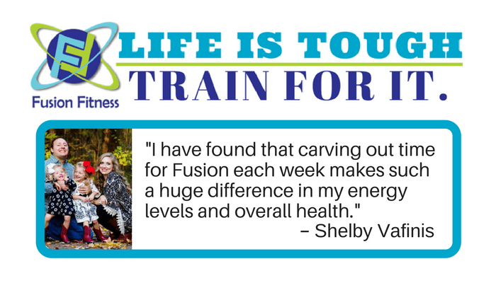 More energy with Fusion Fitness
